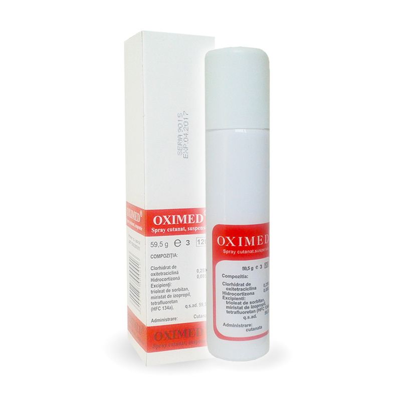 OXIMED Spray cutanat  59,5g