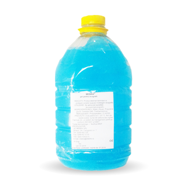 MEBRA gel for ecopgraphies 5  kg